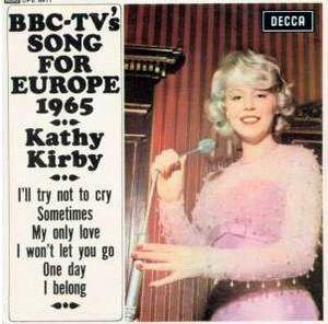 Kathy Kirby - No Regrets / Don't Walk Away
