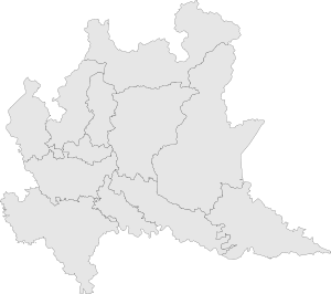Map of region of Lombardy, Italy - grey.svg