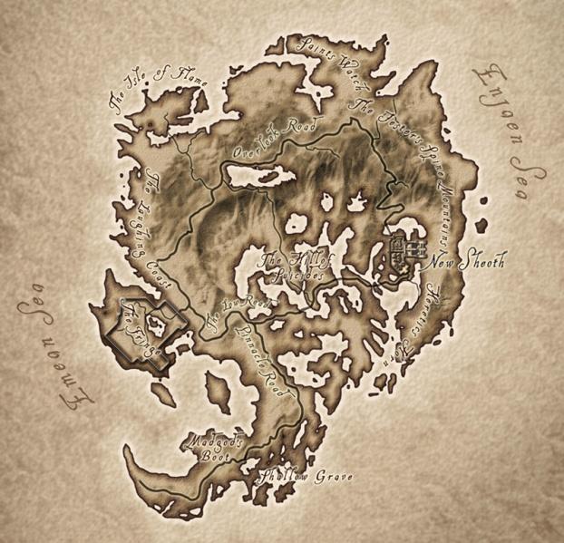 Oblivion Karte.Oblivion Pasaulis Vikipedija
