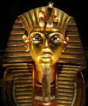 Egipto faraonas tutanchamonas