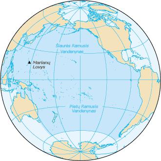 Ramiojo vandenyno gylis