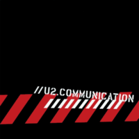 U2.COMmunication viršelis