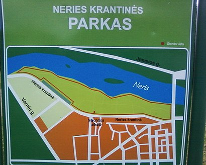 How to get to Neries Krantinė with public transit - About the place