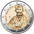 €2 Commemorative coin SanMarino 2007.jpg