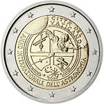 €2 commemorative coin Vatican 2009.jpg