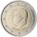 2 euro commemorative coin Spain 2014.png