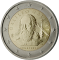 €2 commemorative coin Italy 2014.png