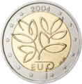€2 commemorative coin Finland 2004.png