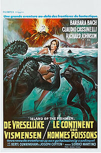 Island of the Fishmen poster French.jpg