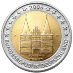 €2 commemorative coin Germany 2006.png
