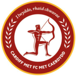 CMU FC logo with slogan in golden circle.png