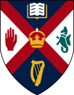Queen's University Belfast AFC logotipas.png