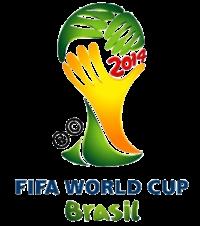XX pasaulio futbolo čempionato emblema