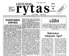 Lietuvos rytas laikrastis