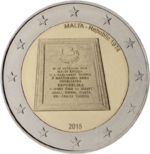Malta 2 euro commemorative 2015.png