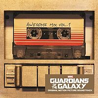 Guardians of the Galaxy: Awesome Mix Vol. 1 viršelis