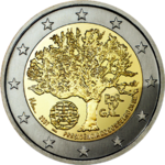 €2 commemorative coin Portugal 2007.png
