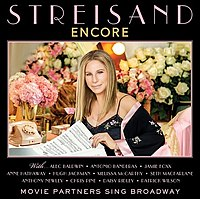 Encore: Movie Partners Sing Broadway viršelis