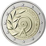 €2 commemorative coin Greece 2011.jpg