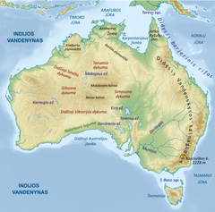 Australijos Geografija Vikipedija