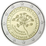 €2 commemorative coin Slovenia 2010.jpg