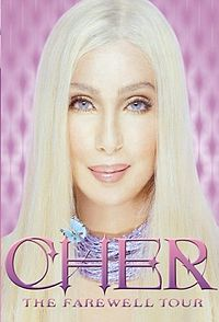Cher - The Farewell Tour viršelis