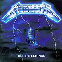 Ride the Lightning viršelis