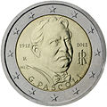 €2 commemorative coin Italy 2012.jpg