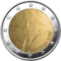 €2 commemorative coin Slovenia 2008.png