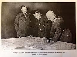 Hitlera apspriede Vērmahta Ziemeļu armijas štābā bijušajā Malnavas muižā 1941. gada 21. jūlijā.