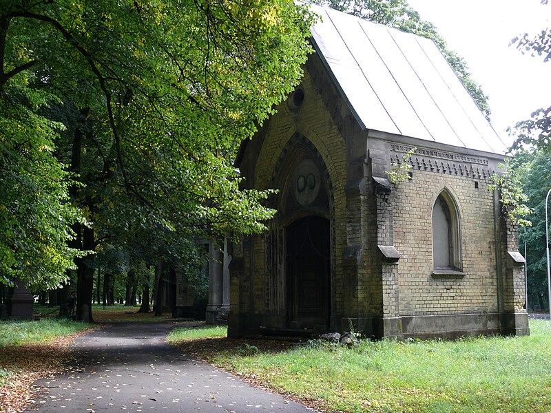 Dans le Grand Cimetière de Riga en Lettonie. Photo de A.Buks.