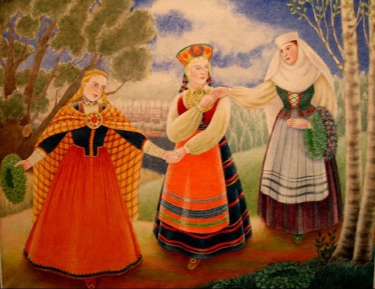 Hilda Vīka Trīs Baltijas māsas