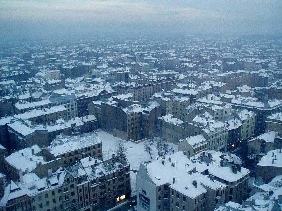 Rīgas centrālā daļa