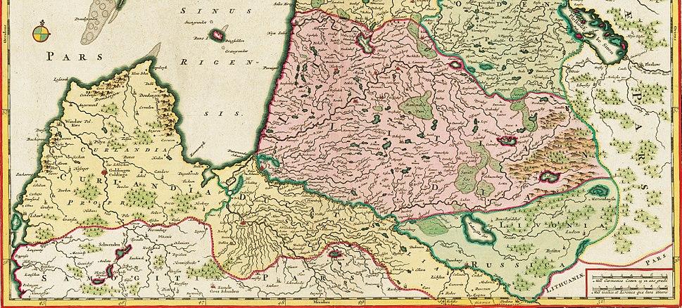 Latvijas teritorija 17. gadsimtā