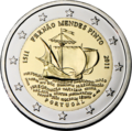 €2 commemorative coin Portugal 2011.png