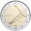 €2 commemorative coin Finland 2011.png
