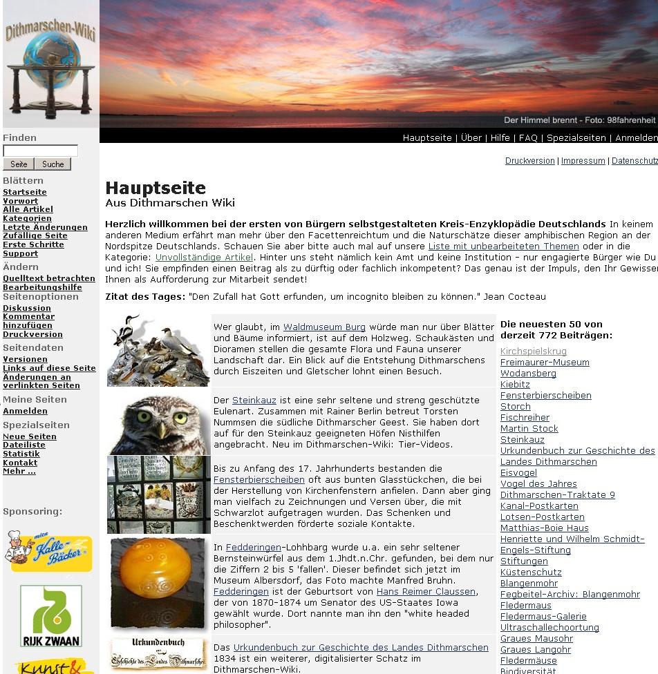 Sites using MediaWiki/de - MediaWiki