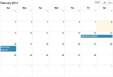 Calendars Mediawiki