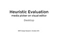 Heuristic Evaluation of media picker, ve on desktop.pdf