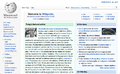 English Wikipedia using the Vector skin.png