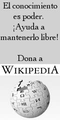 El conocimiento es poder. ¡Ayuda a mantenerlo libre! Dona a Wikipedia