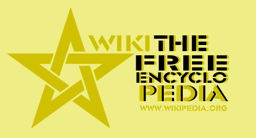 WikipediA Logo Star flag.png