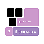 WikipediA Logo Keyboard enjoy.png