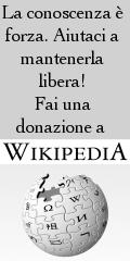 La conoscenza è forza. Aiutaci a mantenerla libera! Fai una donazione a Wikipedia.