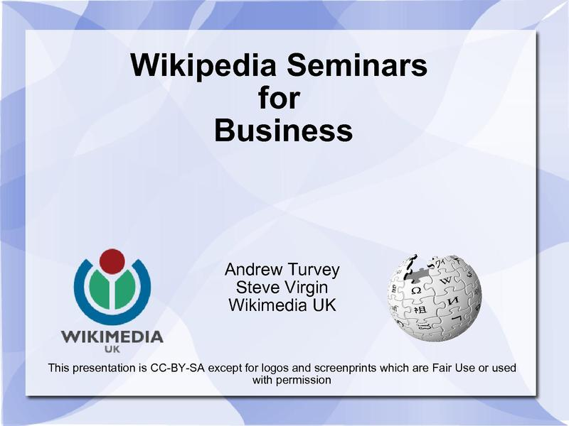 File:Wikipedia Seminar for Business v2.pdf