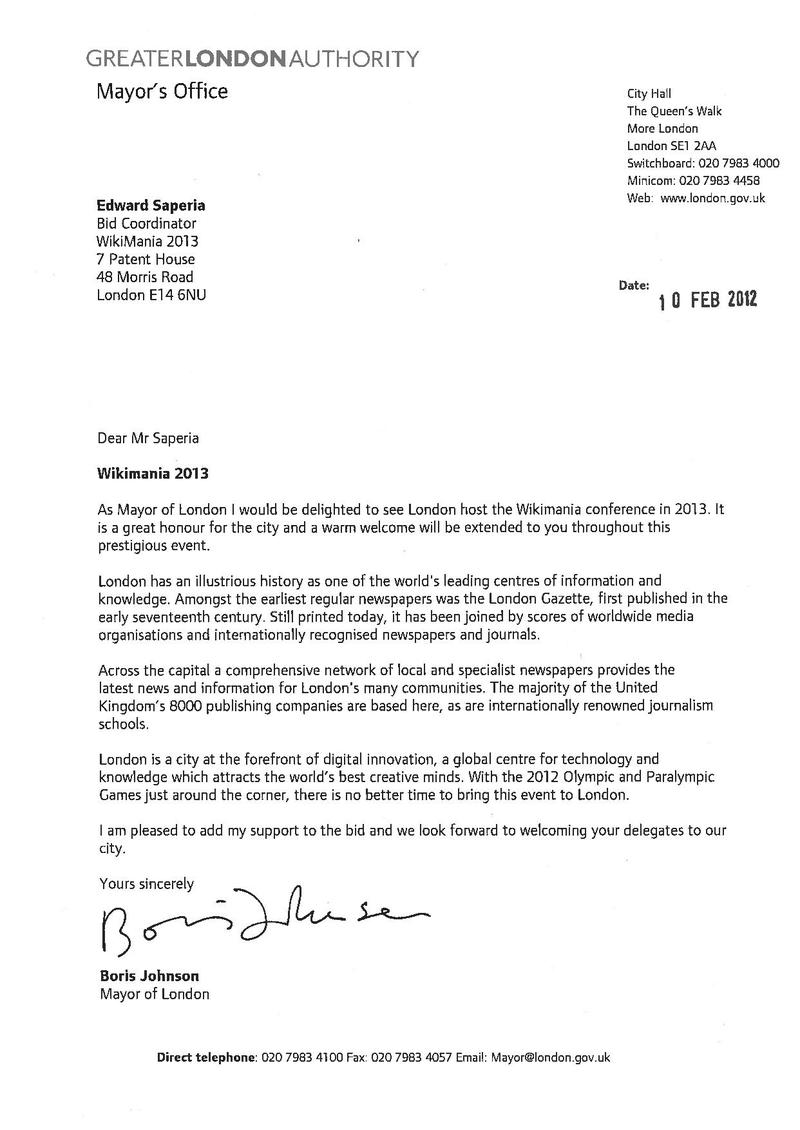 File:Wikimania 2013 London letter of support Mayor of London.pdf