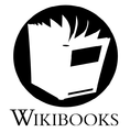 Wikibooks logoproposal.Risk.BW.png