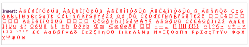Special characters under edit box, IE.png