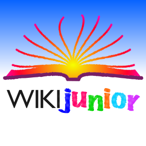 Wikijunior logo Page Fan.svg