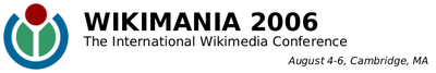 Wikimania banner
